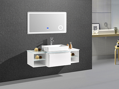 IL1906 Versatile Single Bathroom Vanity Set with LED Mirror