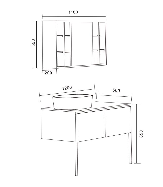 Floating Bathroom Vanity Bathroom Furniture
