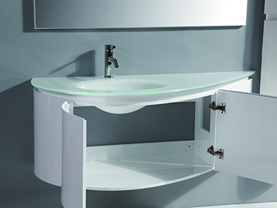 IL1557 Wall Mount Bathroom Vanity with 2 Large Drawers