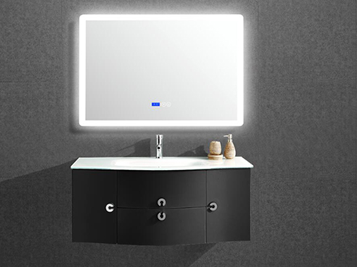 IL1905B Bathroom Vanity Set with LED Lighted Mirror