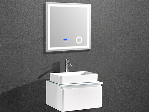 IL-1909 Small Bathroom Vanity Set with LED Mirror