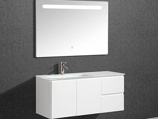 IL-309 Wall Mounted Bathroom Vanity Set with Mirror