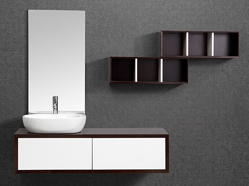IL-N2105 Wall Hung Bathroom Vanity Set with Mirror