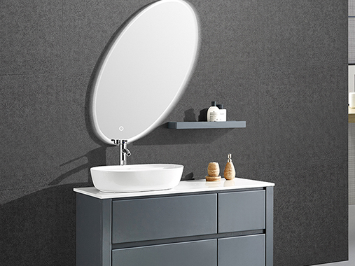 IL-1931 Free Standing Bathroom Vanity Set with Mirror