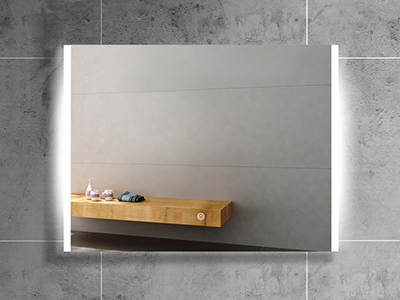 DF46 Rectangle Backlit Bathroom Wall Mirror